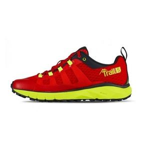 Boty Salming Trail 5 Women Poppy Red/Safety Yellow, Salming