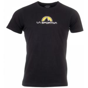 Pánské tričko La Sportiva Footstep Tee Men black