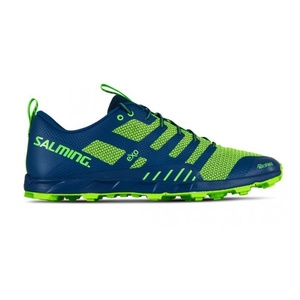 Boty Salming OT Comp Men Poseidon Blue/Safety Yellow, Salming