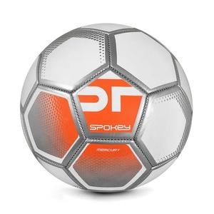Spokey MERCURY Fotbalový míč vel. 5 bílo-oranžový, Spokey