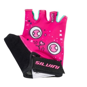 Dětské cyklo rukavice Silvini Punta CA1438 pink, Silvini