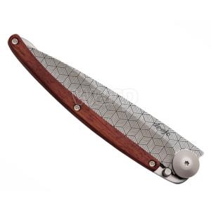 Kapesní nůž Deejo 1CB042 Tattoo illusion 37g, coralwood, Deejo