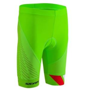 Dětské cyklistické kalhoty Silvini Team CP1436 green, Silvini