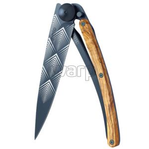 Kapesní nůž Deejo 3GB105 Giant black Art Déco, Deejo