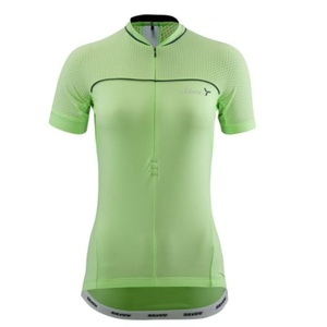 Dámský cyklistický dres Silvini CATIRINA WD1002 lime, Silvini