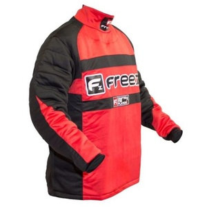 Brankářský dres FREEZ Z-80 GOALIE SHIRT BLACK/RED senior, Freez