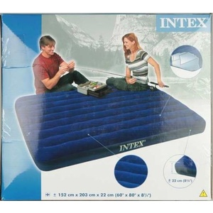 Nafukovací postel - matrace Intex Queen 152 x 203 cm