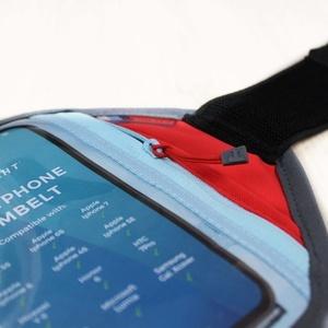 Pouzdro na mobil Raidlight Smartphone Armbelt L Red Light, Raidlight