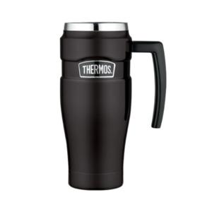 Vodotěsný termohrnek s madlem Thermos Style matně černá 160033, Thermos