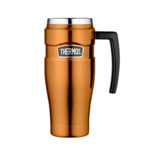 Vodotěsný termohrnek s madlem Thermos Style měděná 160034, Thermos
