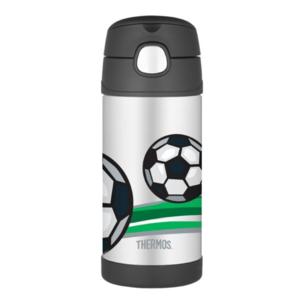 Dětská termoska s brčkem Thermos Funtainer fotbal, Thermos