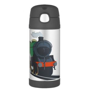 Dětská termoska s brčkem Thermos Funtainer vlak, Thermos