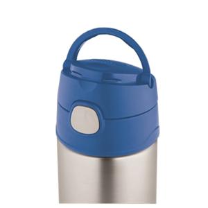 Dětská termoska s brčkem Thermos Funtainer modrá 470ml 120022