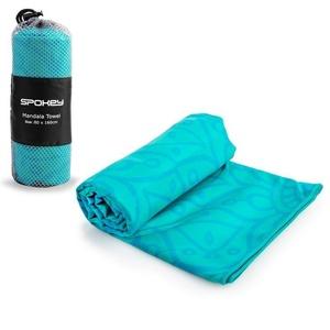 Spokey MANDALA Rychleschnoucí plážový ručník tyrkysový 80x160cm , Spokey