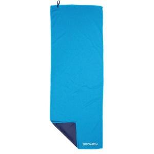 Chladící rychleschnoucí ručník Spokey COOLER 31x84 cm, zelenýmodrý v plastic bag
