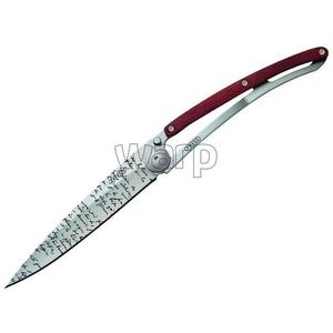 Kapesní nůž Deejo 1CB055 Tattoo 37g, ebony wood, Manuscript, Deejo