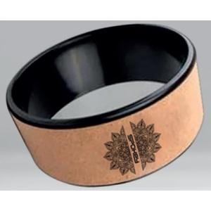 Jóga kruh Spokey CZAKRA korek, průměr 32,5 cm, Spokey