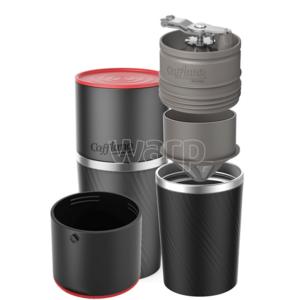 Outdoorovy kávovar Cafflano Klassic black CAF0002, Cafflano