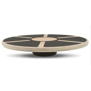Balanční podložka Yate, dřevěná, kruhová