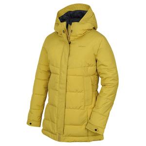 Dámský hardshell plněný kabát Husky Nilit L žlutozelená, Husky