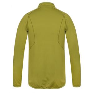 Pánská mikina Husky Tarp zip M zelenožlutá