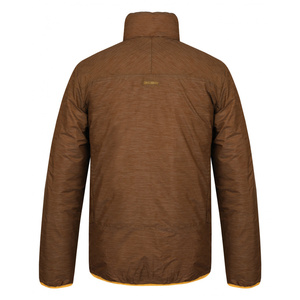 Pánská plněná oboustranná bunda Husky Nodiq M krémově žlutá/tm.hořčicová, Husky
