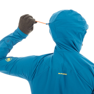 Pánská bunda Mammut Aenergy Pro SO Hooded Jacket Men saphire 50226, Mammut