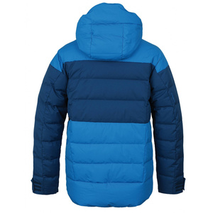 Pánská péřová bunda Husky Dester M modrá/tm.modrá, Husky