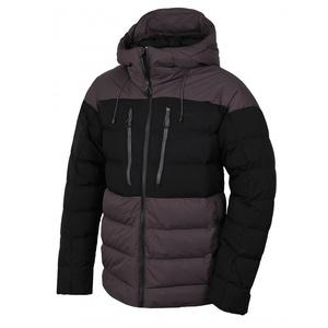 Pánská péřová bunda Husky Dester M grafit/černá, Husky