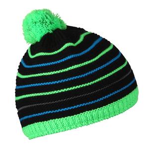 Dětská čepice Husky Cap 34 černá/neon zelená, Husky