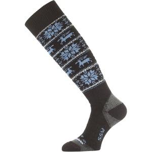Ponožky Lasting SSW 905 černé, Lasting