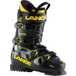 Lyžařské boty Lange RX 120 black/yellow LBI2050