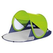 Samorozkládací plážový paravan Spokey STRATUS UV 40 190x120x90 cm limetový