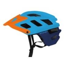 Cyklistická přilba pro dospělé Spokey SINGLETRAIL modrá, Spokey