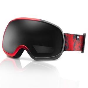 Lyžařské brýle Spokey PARK černo-červené, Spokey