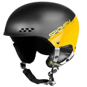 Lyžařská přilba Spokey APEX černo-žlutá vel. L/XL