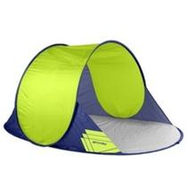 Samorozkládací plážový paravan Spokey ALTUS 195x120x85 cm zelený