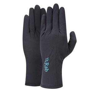 Rukavice Rab Merino+ 160 Glove Women's ebony, Rab