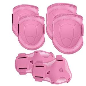 Sada dětských chráničů Spokey BUFFRE růžové