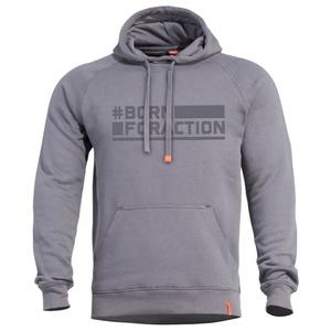 Mikina PENTAGON® Phaeton Born For Action melange grey, Pentagon