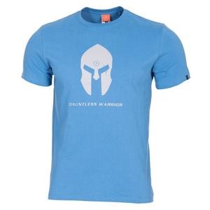 Pánské tričko PENTAGON® Spartan helmet pacific blue, Pentagon