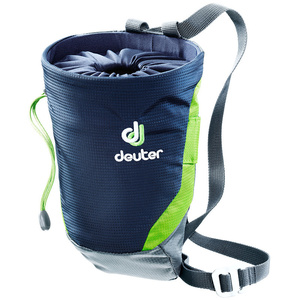 Pytlík na magnézium Deuter Gravity Chalk Bag II L Navy-granite (3391317)