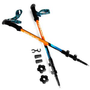 Trekingové hole Spokey ZION modro-oranžové, Spokey