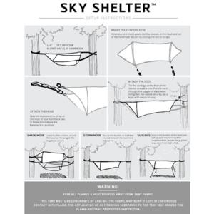 Stanový přístřešek Klymit Sky Shelter zelený, Klymit