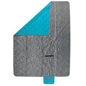 Kempingová deka Spokey CANYON 200x140cm šedo/modrá, Spokey