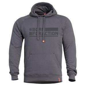 Mikina PENTAGON® Phaeton Born For Action cinder grey, Pentagon