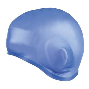 Plavecká čepice Spokey EARCAP modrá, Spokey
