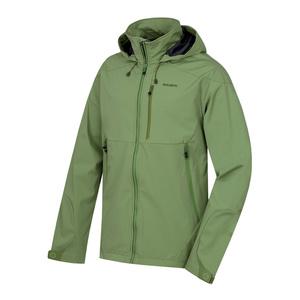 Pánská softshellová bunda Husky Sauri M tm.zelená, Husky