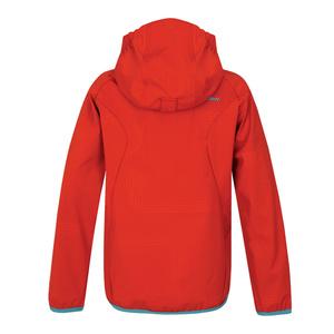 Dětská softshellová bunda Husky Zally Kids červená, Husky