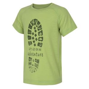 Dětské triko Husky Zingl Kids sv. zelená, Husky